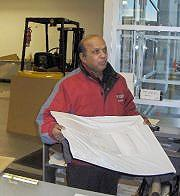Toronto H&B Disher Courier personnel goes the extra mile for our clients.